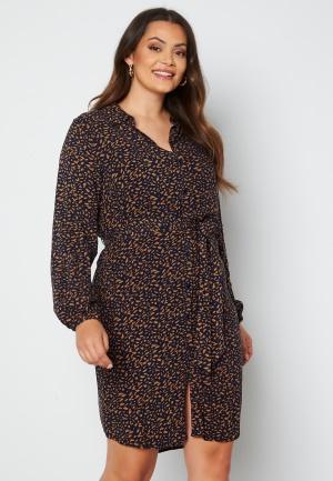 Only Carmakoma Lolliemma LS Shirt Dress Peacoat 42