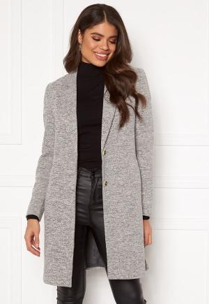 Image of ONLY Carrie Mel Coat Light Grey Melange 34