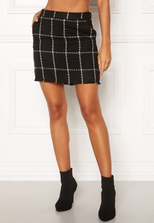 ONLY Dare Check Mini Skirt Black/Check L