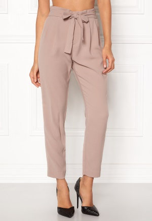 ONLY Florence Belt Ankle Pant Fawn L ONLY