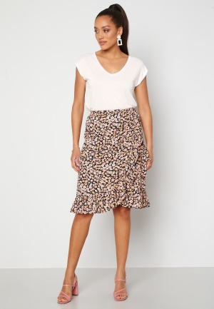 ONLY Fuchsia Wrap Skirt Black M