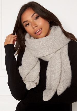 ONLY Lima Knit Long Scarf Moonbeam One size