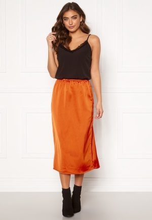ONLY Mania Midi Skirt Rust 40