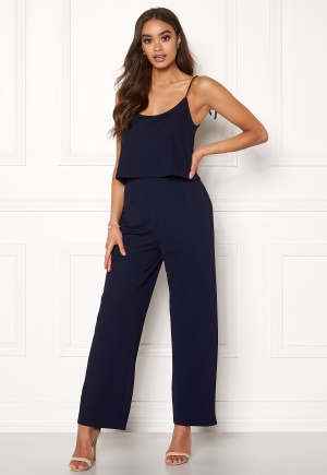 ONLY Mona S/L Double Jumpsuit Night Sky XS