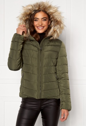ONLY New Ellan Quilted Jacket Forest night XS