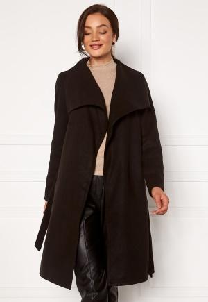 ONLY New Phoebe Drapy Coat Black XS