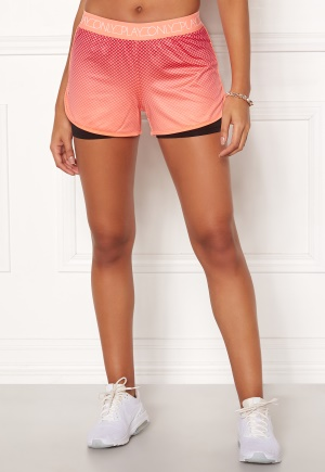 ONLY PLAY Melina AOP Shorts Neon Orange L