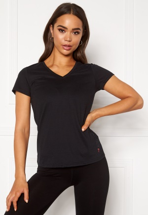 ONLY PLAY Performance ATHL V-Neck SS Tee Black M