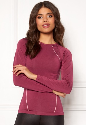 ONLY PLAY Stephanie Seamless Tee Rhododendron M