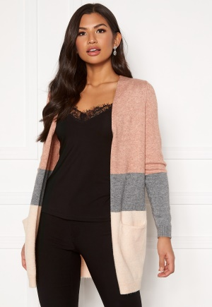 ONLY Queen L/S Cardigan Misty Rose XS