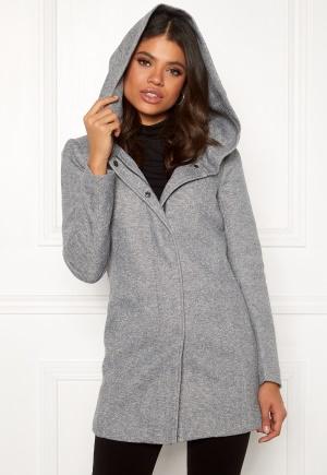 ONLY Sedona Light Coat Light Grey Melange XS