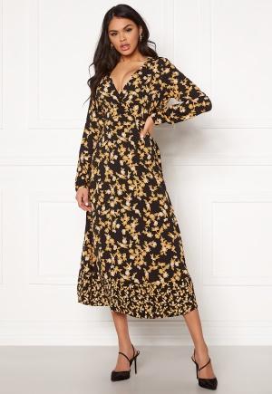 ONLY Venera L/S Midi Dress Black 36