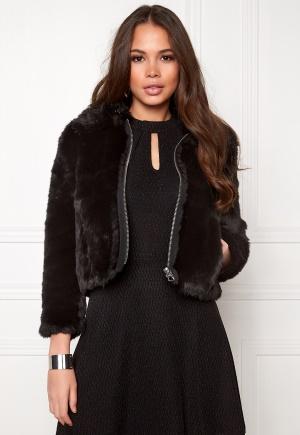 CHEAP MONDAY Pace Fur Jacket Black L