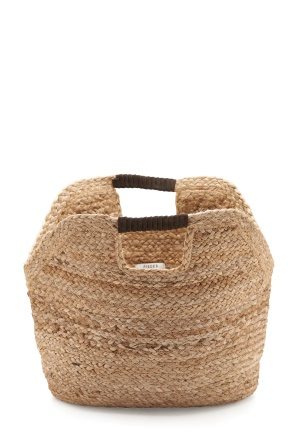 Pieces Charlie Straw Bag Nature One size