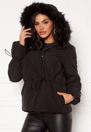 Pieces Hira Puffer Jacket Black L