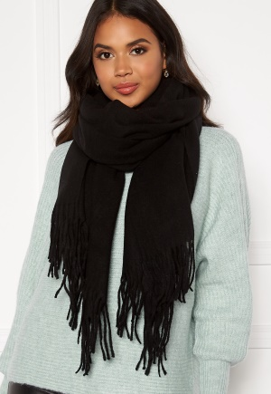 Pieces Jira Wool Scarf Black One size