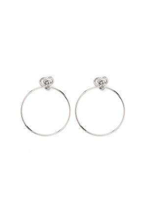 Pieces Jorie Earrings Silver One size