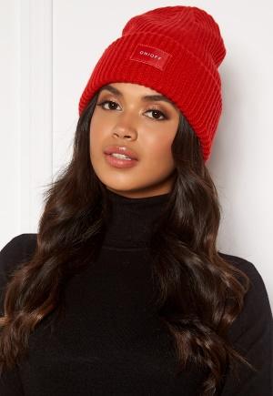 Pieces Josefine Wool Hood Racing red One size