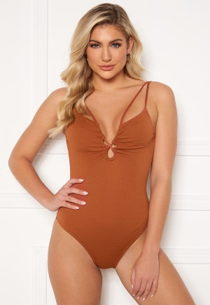 Pieces June Swimsuit Ginger Bread XS