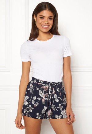 Pieces Lana SS Top Bright White S