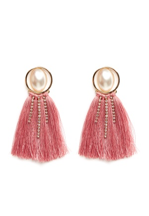 Pieces Mabelle Earrings Gold Colour One size