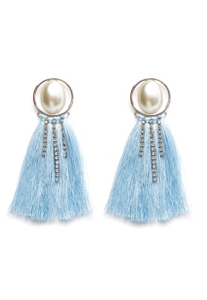 Pieces Mabelle Earrings Silver Colour One size