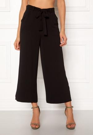 Pieces Nellie HW Culotte Pants Black XS