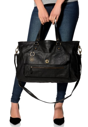 Pieces Totally Royal Travel Bag Musta One size