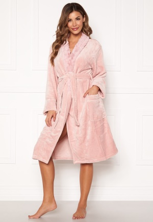 PJ. Salvage Luxe Plush Robes Rose Quartz L