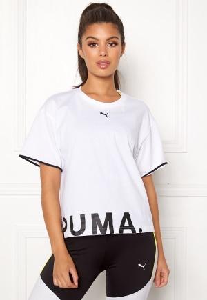 PUMA Chase Cotton Tee 002 White XS