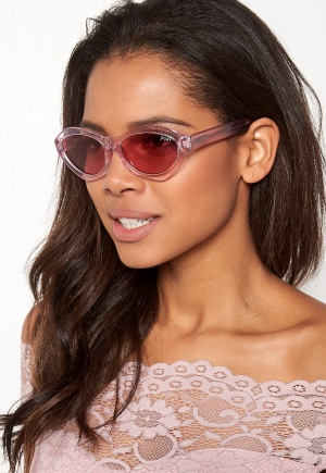 Quay Australia As If Sunglasses Pink / Pink Lens One size