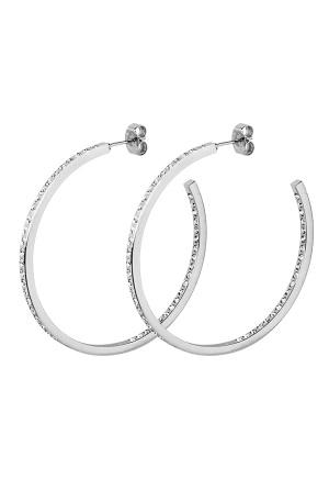 Dyrberg/Kern Quinne Crystal Earrings Silver One size