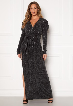 Ravn Tuesday Dress Silver Sequin L