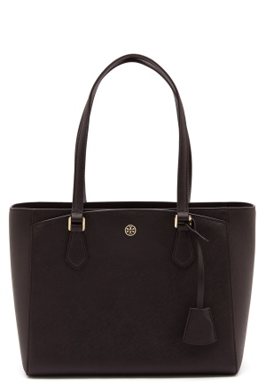 TORY BURCH Robinson Small Tote Black One size