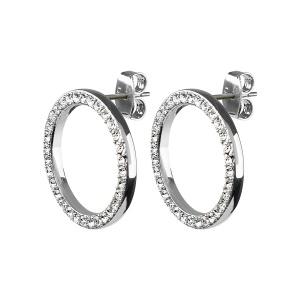 Dyrberg/Kern Roselle Crystal Silver One size