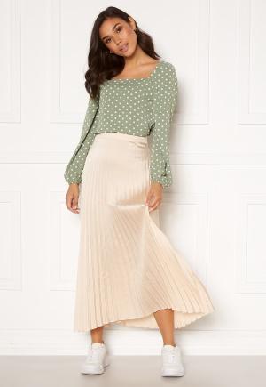 Rut & Circle Bianca Long Skirt Light Beige M