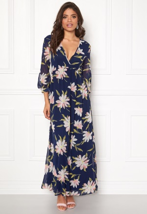 Rut & Circle Charlie Long Flower Dress Flower S (36)