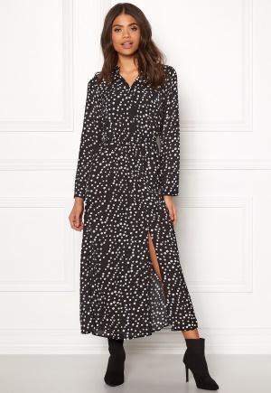 Rut & Circle Dot Long Dress White Dots XS