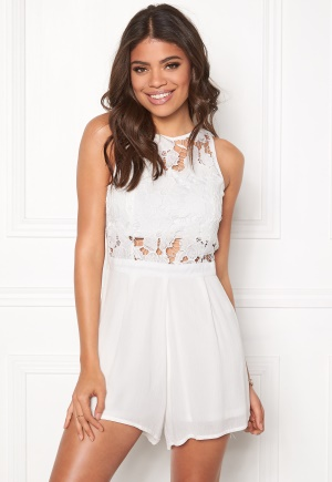 Rut & Circle Emmy Playsuit White S (36)