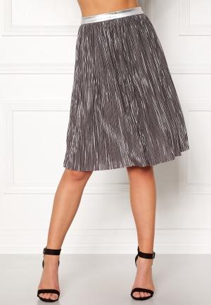 Rut & Circle Nina Pleat Skirt Silver L