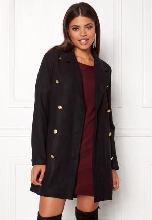 Rut & Circle Nor Button Coat Black L
