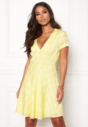 Samsøe & Samsøe Cindy Short Dress Yellow Pear S