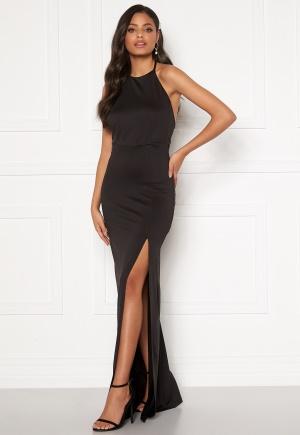 Sandra Willer X Bubbleroom Halterneck gown Black L
