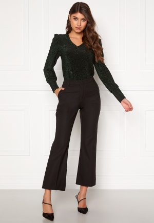 SELECTED FEMME Ada Cropped Flared Pant Black 34