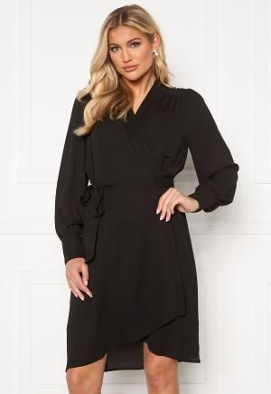 SELECTED FEMME Alva LS Wrap dress Black 34