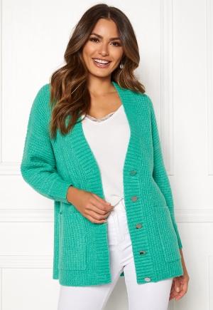 SELECTED FEMME Clova LS Knit Cardigan Gumdrop Green XS