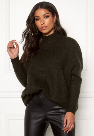 SELECTED FEMME Enica LS Knit O-neck Rosin XS