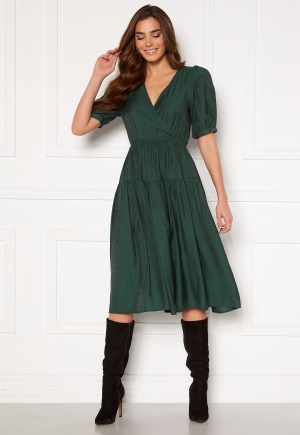 SELECTED FEMME Gitta 2/4 Midi Dress Darkest Spruce 42