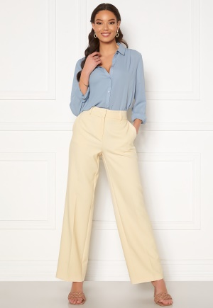 Image of SELECTED FEMME Rita MW Wide Pant Birch 34