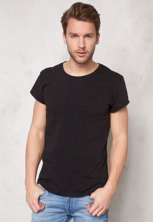 SELECTED HOMME Tristan ss O-neck Black M